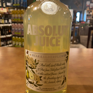 Absolut Juice, Pear and ElderFlower Edition, 750ml