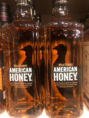 Wild Turkey American Honey Bourbon, 750 ml