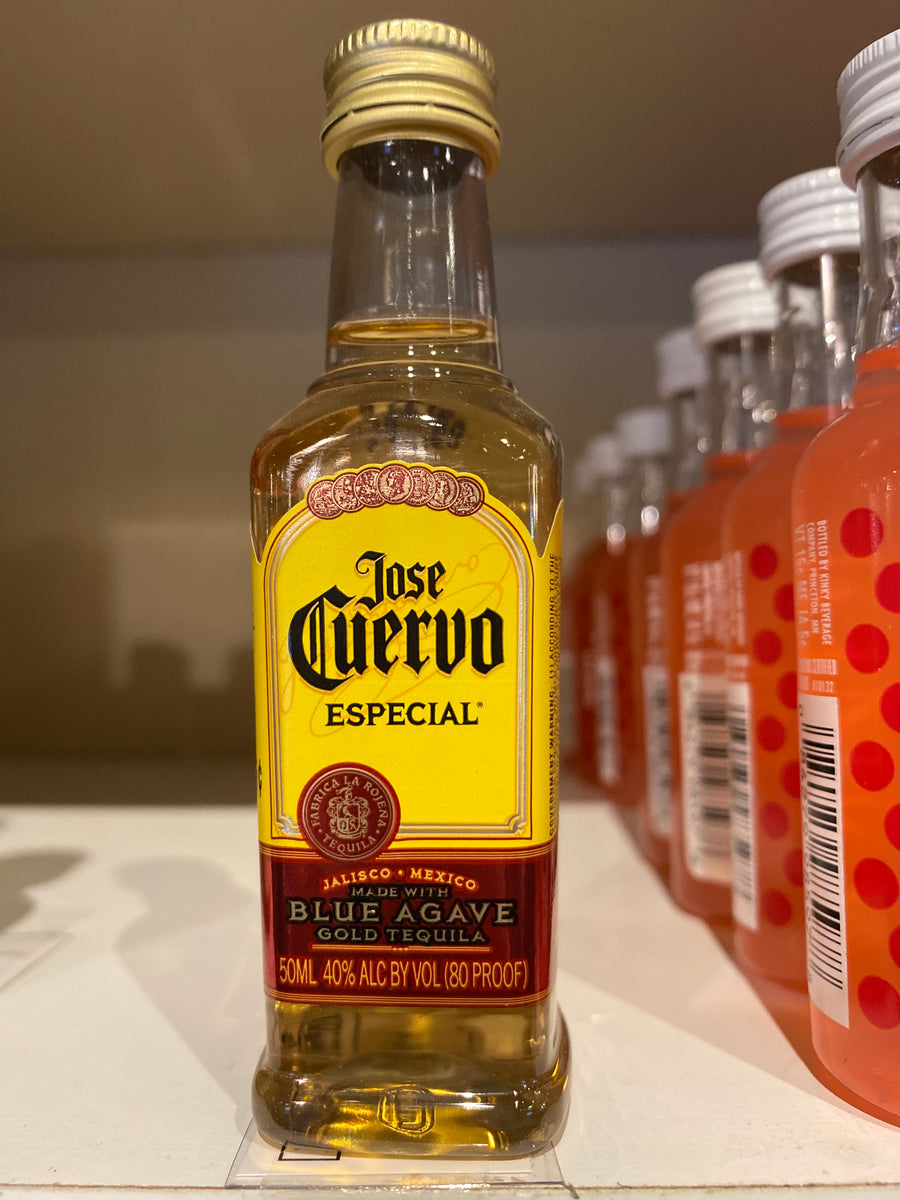 Cuervo Gold Tequila, 50 ml