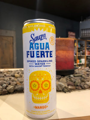 Sauza, Spiked Sparkling Water & Tequila, Mango, RTD, 355 ml Can