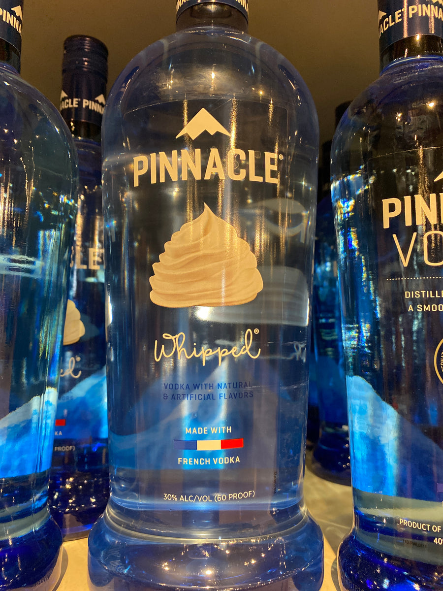Pinnacle Vodka Whipped, 1.75 L