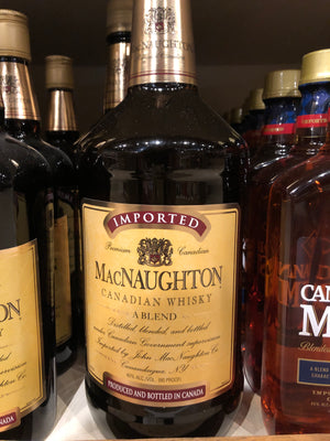 MacNaughton, Canadian Whisky, 1.75