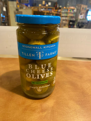 Tillen Farms, Stonewall Kitchen, Blue Cheese Olives, 12oz