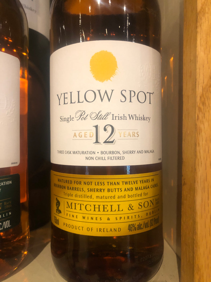 Yellow Spot 12 Year Irish Whiskey, 750 ml