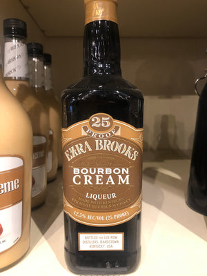 Ezra Brooks Bourbon Cream, 750 ml