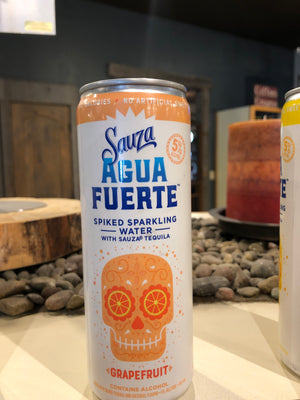 Sauza, Spiked Sparkling Water & Tequila, Grapefruit, RTD, 355 ml Can
