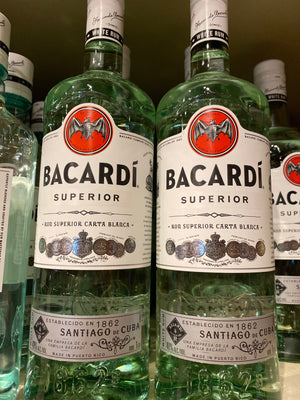 Bacardi Light Rum, 1 L