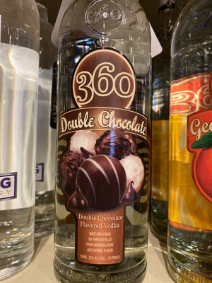 360 Double Chocolate Vodka, 750 ml