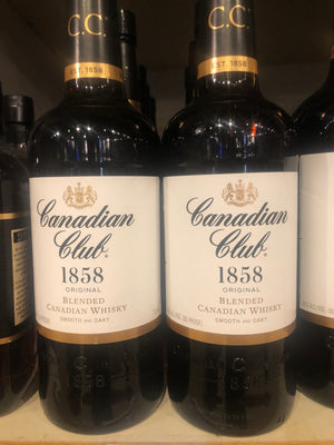 Canadian Club, Canadian Whisky, 750 ml