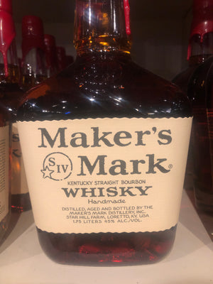 Makers Mark Bourbon, 1.75 L