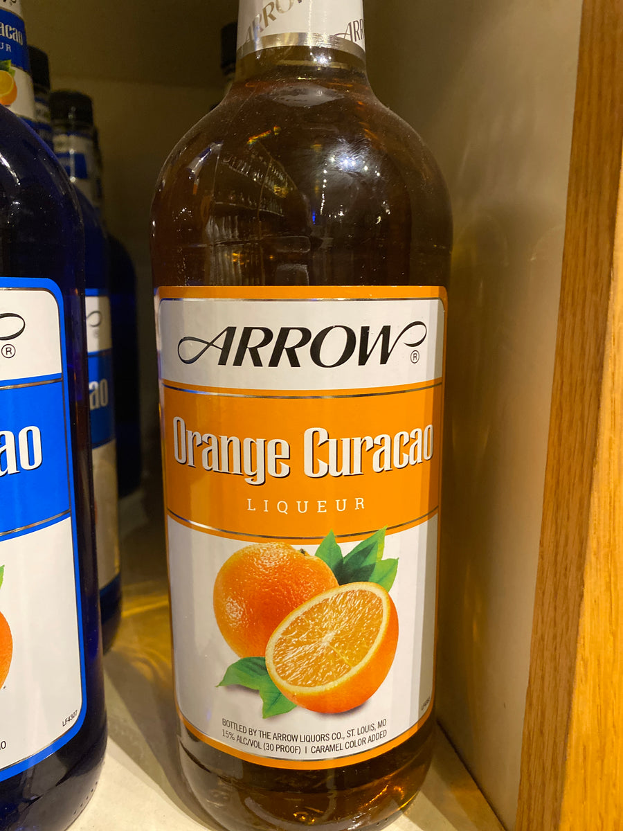 Arrow Curacao Orange, Liqueur, 1 L