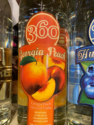 360 Georgia Peach Vodka, 750 ml