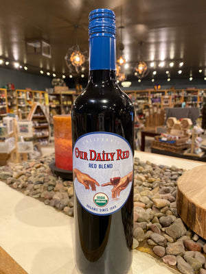 Our Daily Red, Red Blend, Organic, California