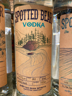 Spotted Bear Vodka, 750 ml