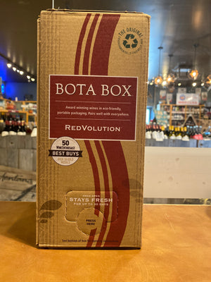 Bota Box, RedVolution, Boxed Wine, 3 liter box