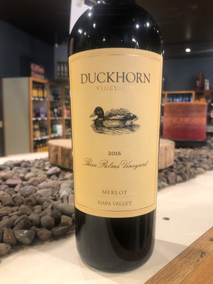 Duckhorn Vineyards, Merlot, Three Palms Vineyard, Napa Valley, California