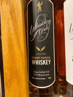 Whistling Andy, Straight Bourbon Whiskey, 750 ml