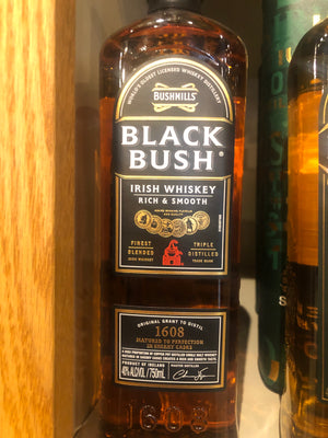 Bushmills Black Bush Irish Whiskey, 750 ml