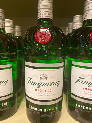 Tanqueray English Dry Gin, 1 L