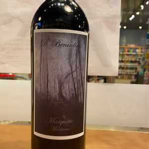 D. Bernardinis, Marquette, Red Wine, Made in Montana