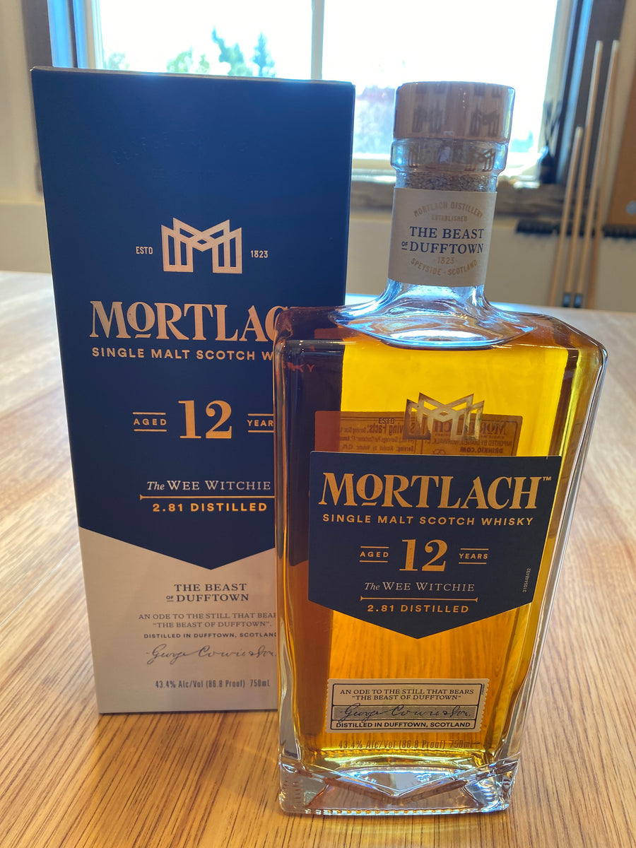 Mortlach, 12 Year, Single Malt Scotch Whisky, 750mL