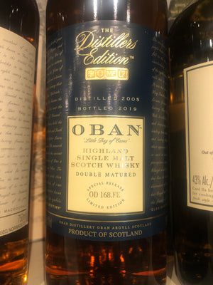 Oban Distillers Edition Scotch, 750 ml