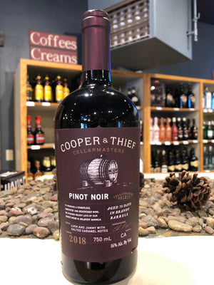 Cooper & Thief, Pinot Noir, California