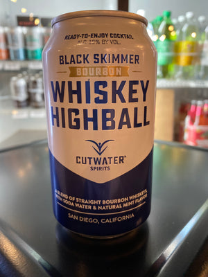 Cutwater, Whiskey Highball, RTD, 12 oz can
