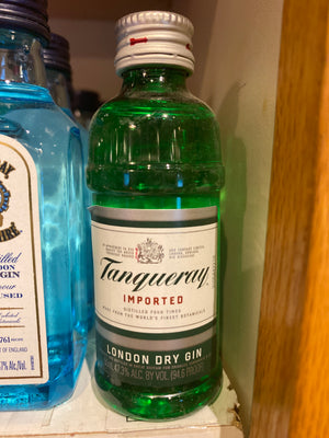 Tanqueray English Dry Gin, 50 ml
