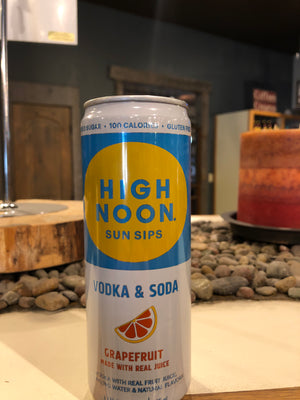 High Noon, Vodka & Soda, Grapefruit, RTD, 355 ml Can