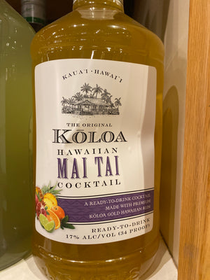 Koloa Hawaiian Mai Tai Cocktail, 1.75 L