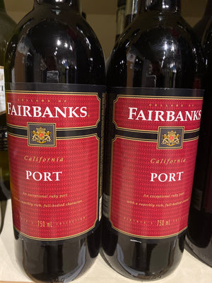 Fairbanks Red Port, 750 ml