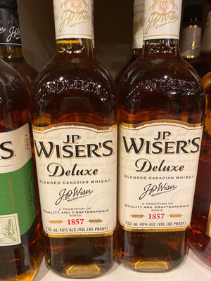 Wiser's, Canadian Whisky, 750 ml