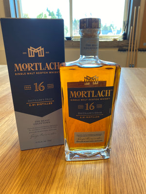 Mortlach, 16 Year, Single Malt Scotch Whisky, 750mL