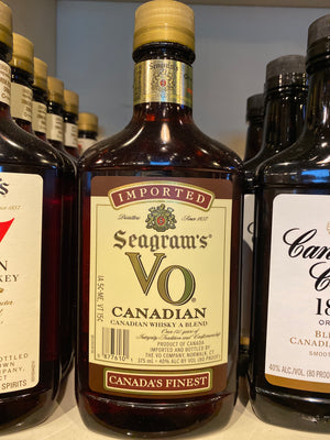 Seagram's VO, Canadian Whisky, 375 ml