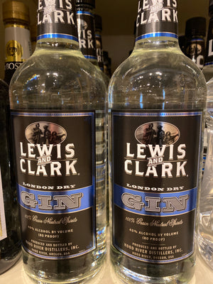Lewis and Clark English Dry Gin, 1 L