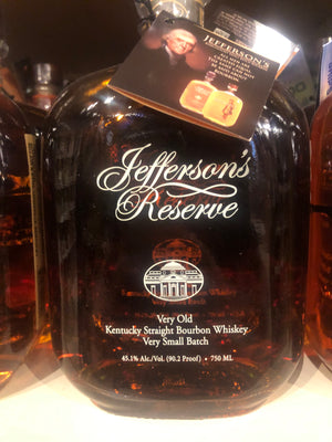 Jefferson's Reserve Bourbon, 750 ml
