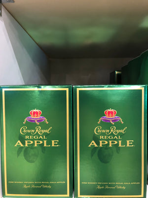 Crown Royal Apple, Canadian Whisky, 1 L
