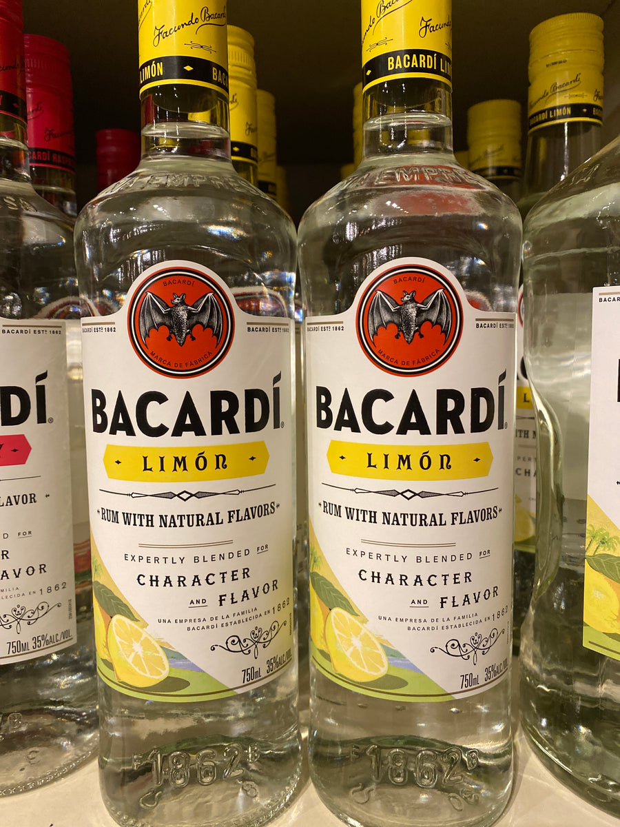 Bacardi Limon Rum, 750 ml