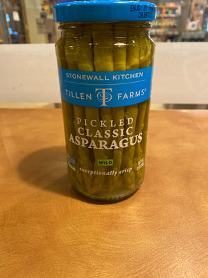 Tillen Farms, Stonewall Kitchen, Pickled Asparagus, 12oz