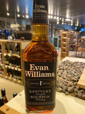 Evan Williams 86 pf. Black Label Bourbon, 750 ml