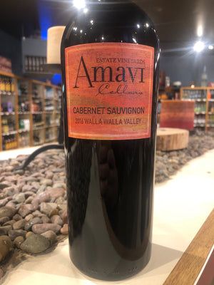 Amavi Cellars, Cabernet Sauvignon, Walla Walla Valley, Washington