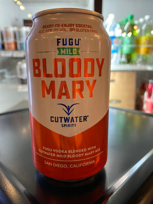 Cutwater, Vodka Bloody Mary Mild, RTD, 12 oz can