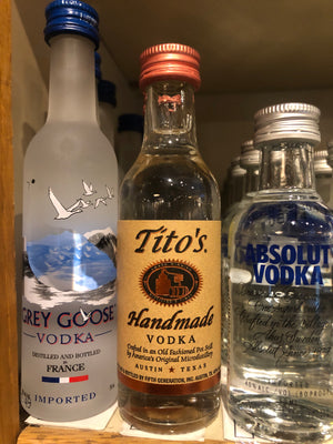 Tito's, Vodka, 50 ml