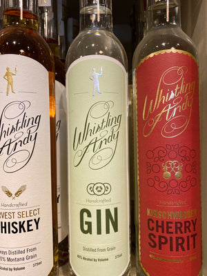 Whistling Andy Gin, 375 ml