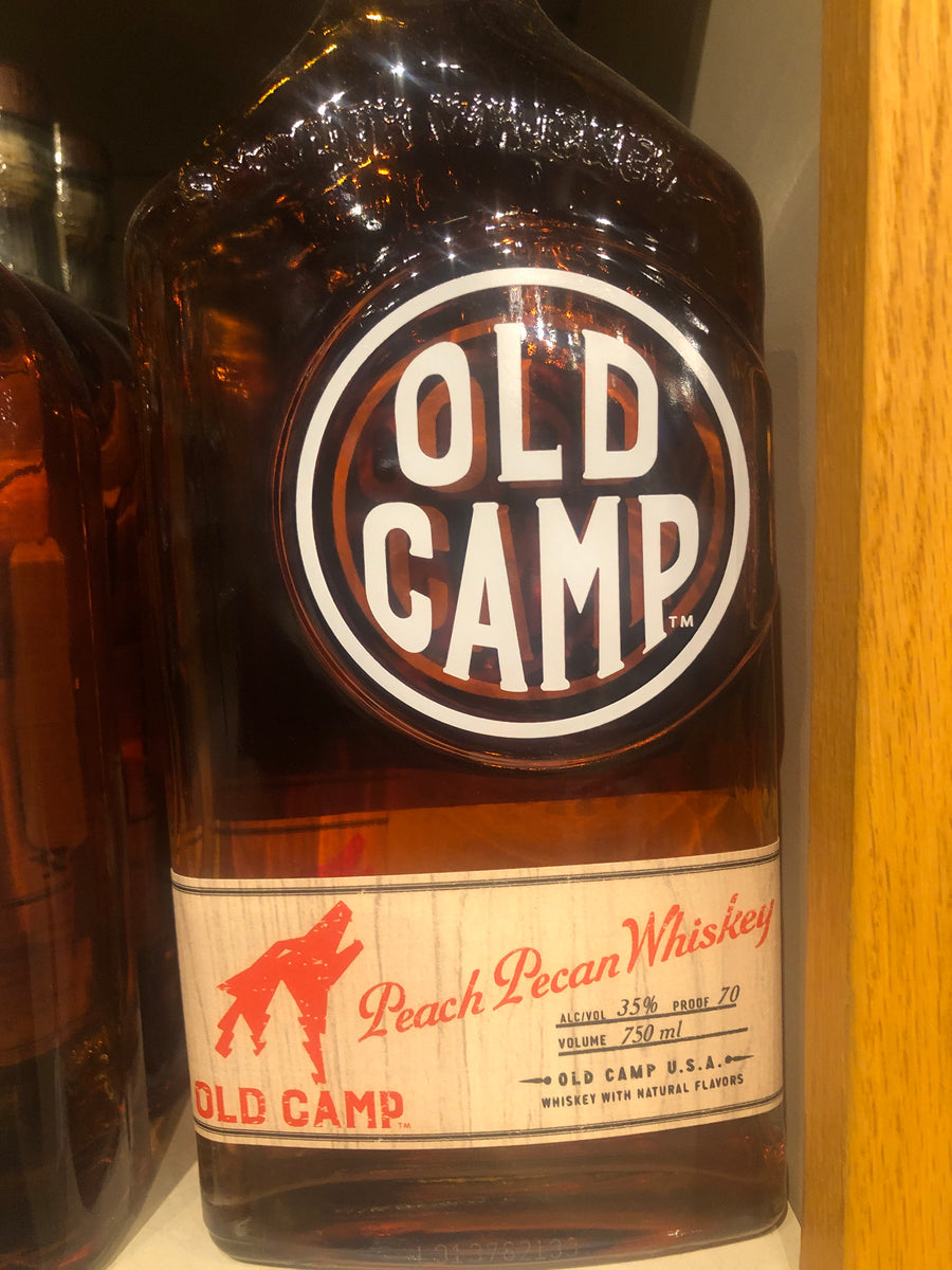 Old Camp Peach Pecan Whiskey, 750 ml