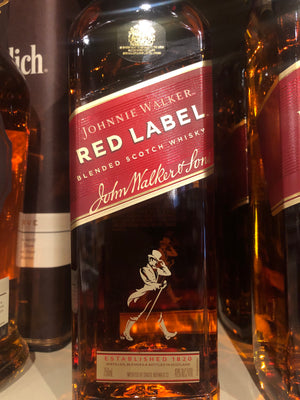 Johnnie Walker Red Label Scotch, 750 ml