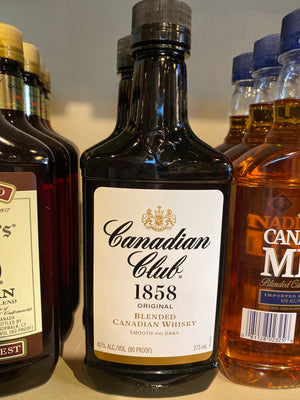 Canadian Club, Canadian Whisky, 375 ml