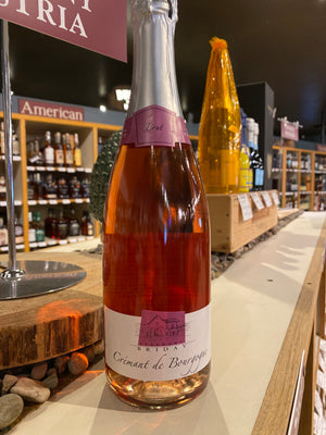 Briday, Brut Rose, Cremant de Bourgogne, France