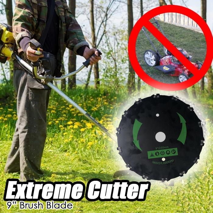 "Extreme Cutter - 9"" Brush Blade"